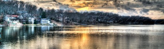 Lake Avalon Sunset HDR